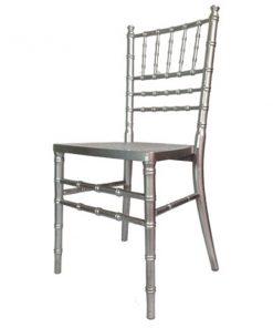 Aluguer de cadeiras prateadas