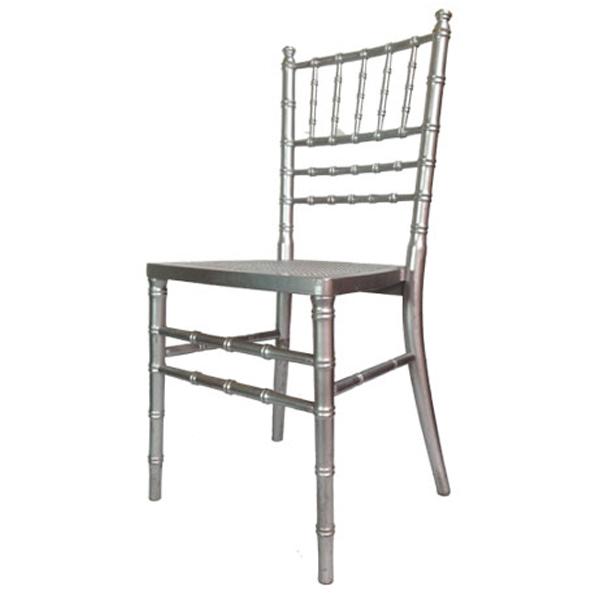 aluguer cadeira prata