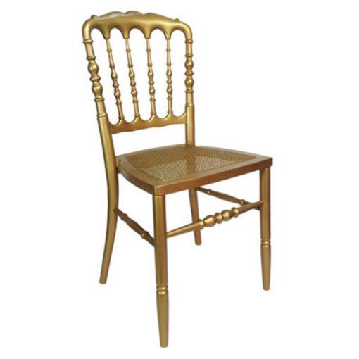 aluguer cadeira dourada