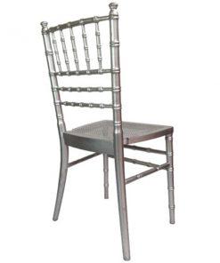 aluguer cadeira prateada