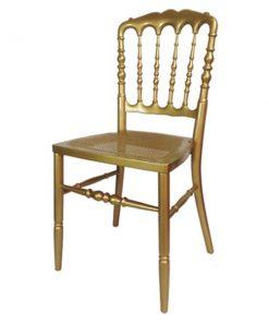 aluguer de cadeiras douradas