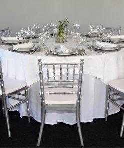 aluguer de mesa redonda para 8 pessoas
