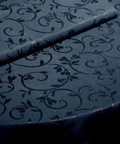 toalha de mesa preta arabesco