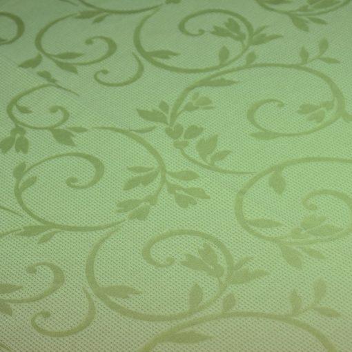 toalha de mesa verde arabesco