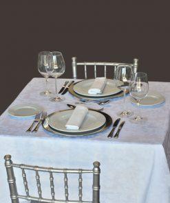 aluguer de mesa quadrada para 2 pessoas
