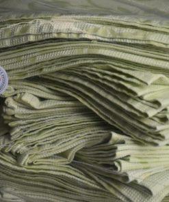 guardanapo verde arabesco ensacado