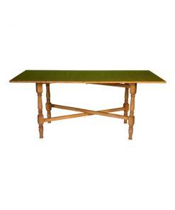 aluguer de mesa retangular madeira