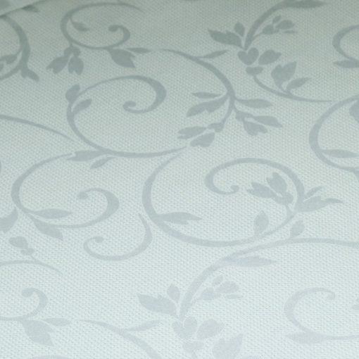 guardanapo de mesa branco arabesco