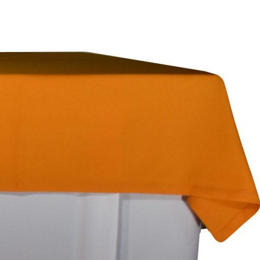 aluguer de toalha de buffet cor de laranja