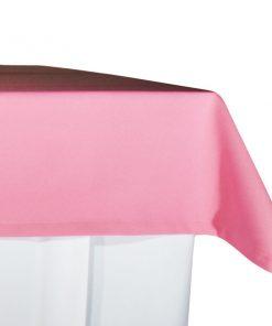 aluguer de toalha buffet rosa