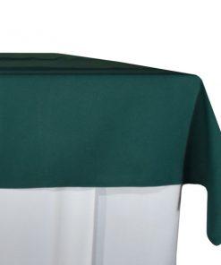 aluguer de toalha de buffet verde
