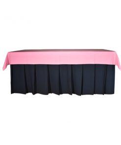 aluguet de toalhas retangulares cor de rosa