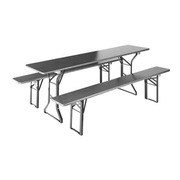 mesas e bancos corridas baviera