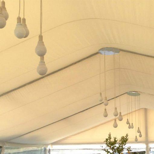 aluguer de candeeiros de bolas para tendas
