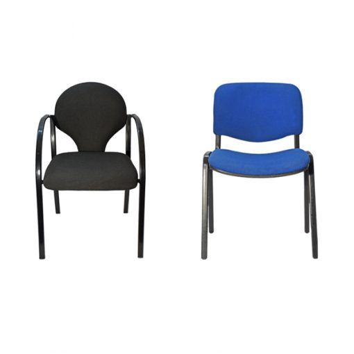aluguer de cadeiras para palestras duas cores