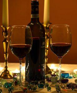 temperatura ideal para servir o vinho